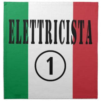 Italian Electricians : Elettricista Numero Uno Cloth Napkins