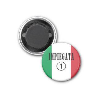 Italian Employees for Her : Impiegata Numero Uno Magnets