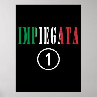 Italian Employees for Her : Impiegata Numero Uno Poster
