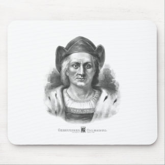 Italian Explorer Christopher Columbus Mouse Pad