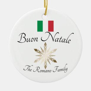 Buon Natale Italia.Buon Natale Italia Italian Italy Home Decor Furnishings Pet Supplies Zazzle