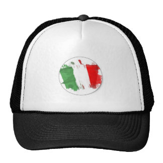 Italian Fashion Flag Trucker Hat