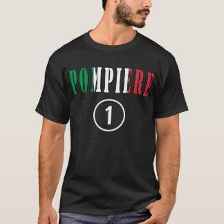 Italian Firefighters : Pompiere Numero Uno T-Shirt