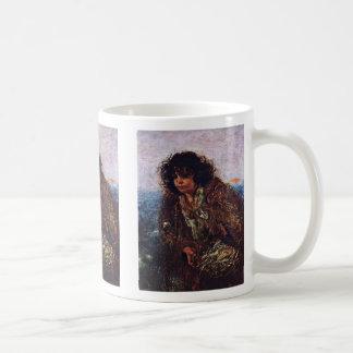 Italian Fishermen Child By Romako Anton Classic White Coffee Mug