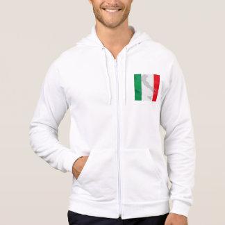 italian flag and Italy Hoodie