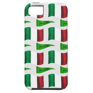 Italian Flag and Motto iPhone SE/5/5s Case