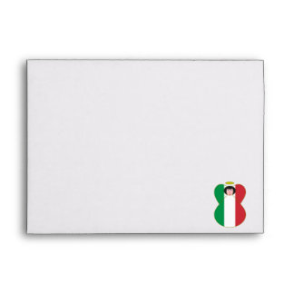 Italian Flag Angel Envelopes