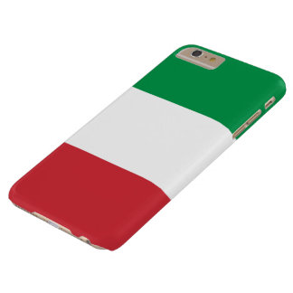 Italian Flag Barely There iPhone 6 Plus Case