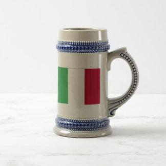 ITALIAN FLAG BEER STEIN