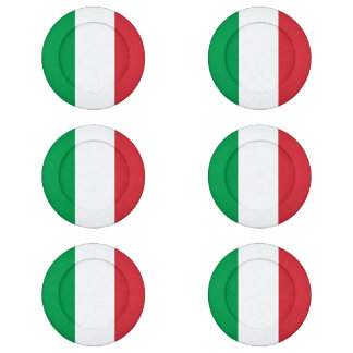 Italian flag button covers | Flag of Italy