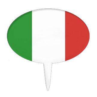 Italian Flag Cake Picks