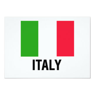 ITALIAN FLAG CARD