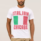 Italian Flag Chicago T-Shirt