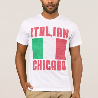 Italian Flag Chicago T-Shirt