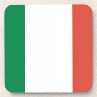 italian flag coaster