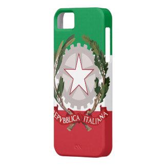Italian Flag Coat of Arms iPhone 5 Case-Mate ID™