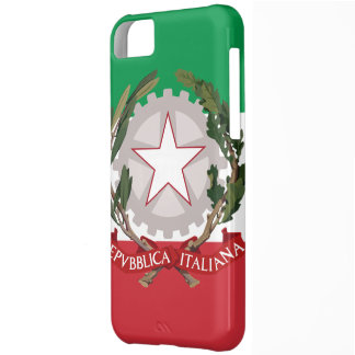 Italian Flag Coat of Arms iPhone 5 Case-Mate ID™