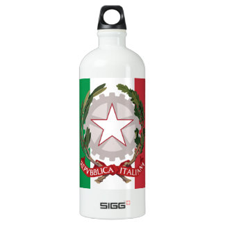 Italian Flag Coat of Arms Liberty Drink Bottle SIGG Traveler 1.0L Water Bottle