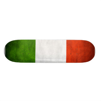 Italian Flag Comp Skatingboard Skateboard