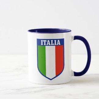 Italian Flag Crest Mug