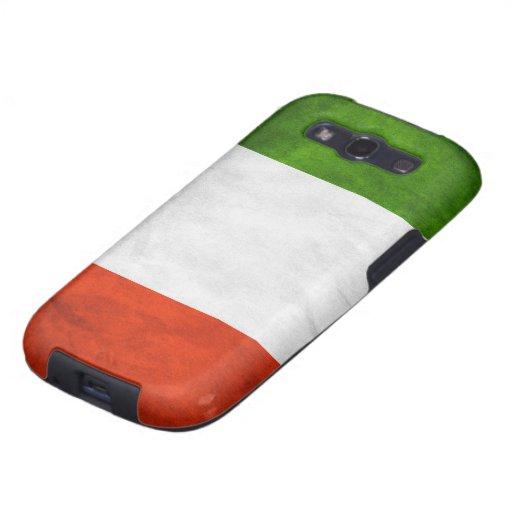 Italian Flag Custom Samsung Galaxy S Case Galaxy S3 Case
