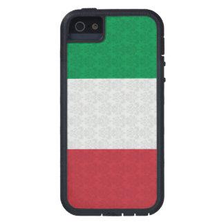 Italian Flag Damask Pattern iPhone 5 Cases