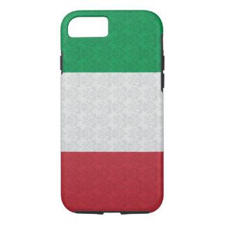 Italian Flag Damask Pattern iPhone 8/7 Case