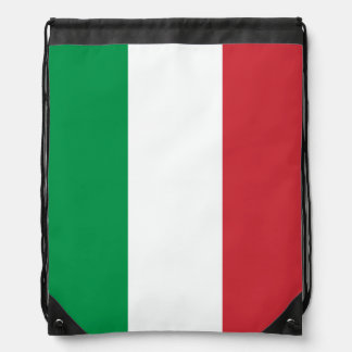 Italian flag drawstring bag | Tricolore of Italy