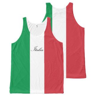 Italian Flag - Flag of Italy - Italia All-Over-Print Tank Top