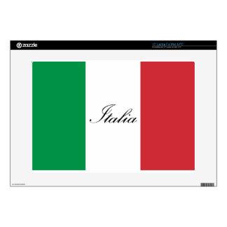 Italian Flag - Flag of Italy - Italia Laptop Decal