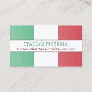 Italian business cards zazzle italian flag fully customizable business card colourmoves