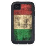 Italian Flag Grunge iPhone4 Case
