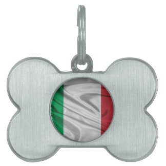 Italian Flag Logo Pet ID Tags