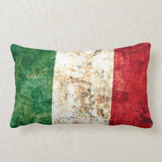 Italian Flag Lumbar Pillow