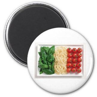 Italian Flag Refrigerator Magnet