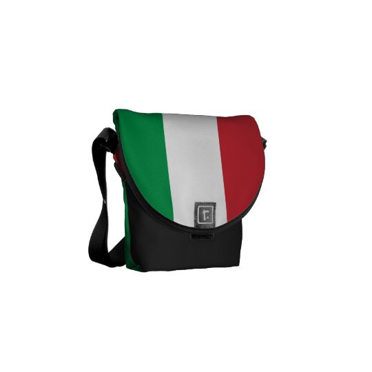 Italian flag mini messenger bag | Tricolore Italy