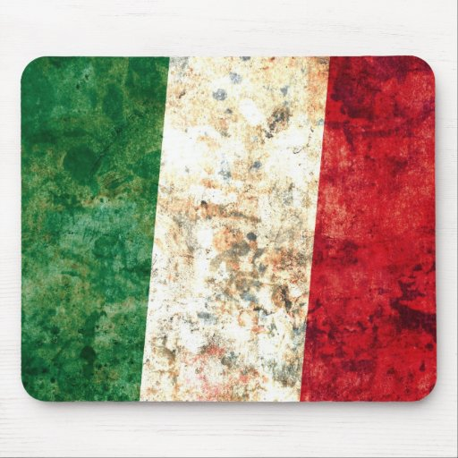 Italian Flag Mouse Pads