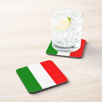Italian Flag of Italy Bandiera d'Italia Coaster