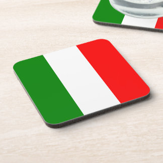 Italian Flag of Italy bandiera d'Italia Tricolore Beverage Coaster