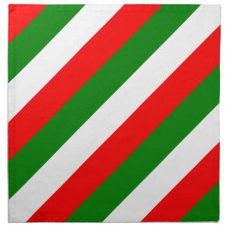 Italian Flag of Italy bandiera d'Italia Tricolore Cloth Napkin