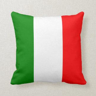 Italian Flag of Italy bandiera d'Italia Tricolore Throw Pillows
