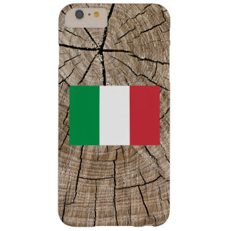 Italian flag on tree bark barely there iPhone 6 plus case