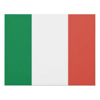 italian flag panel wall art
