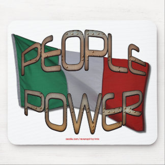 ITALIAN FLAG People Power Independence Motivation Mouse Pad