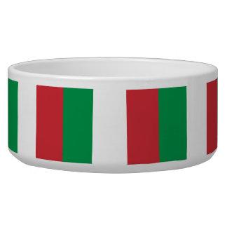Italian Flag Pet Bowl
