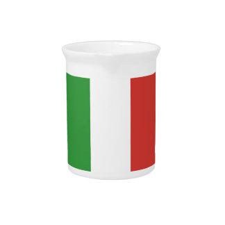 Italian Flag Pitchers