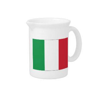 Italian Flag Drink Pitcher