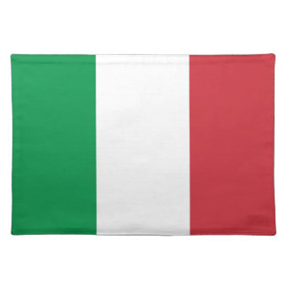 Italian flag placemat   Tricolore of Italy