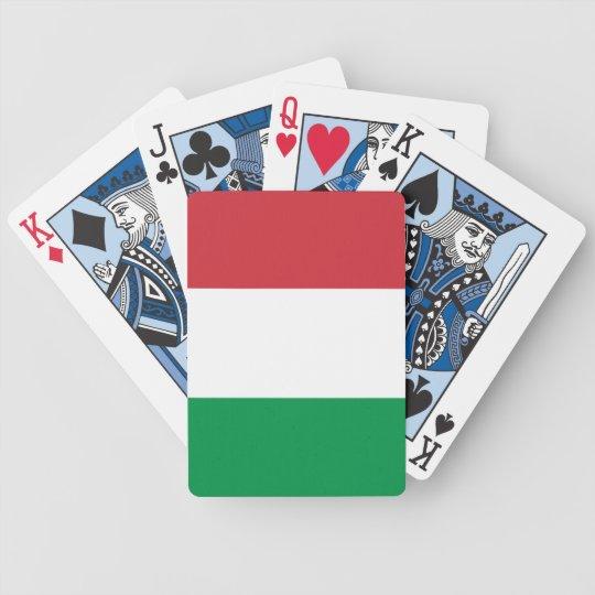 Italian Flag Playing Cards