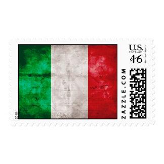 Italian Flag Postage Stamps